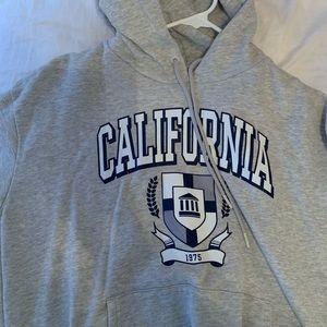Grey California Logo Hoodie from Garage